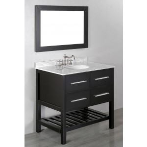 "36"" Bosconi SB-250-3 Contemporary Single Vanity"