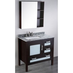 37'' Bosconi SB-251-1 Contemporary Single Vanity