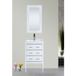 "Dowell 24"" 001 24 01 Single Sink Modern Bathroom Vanity"