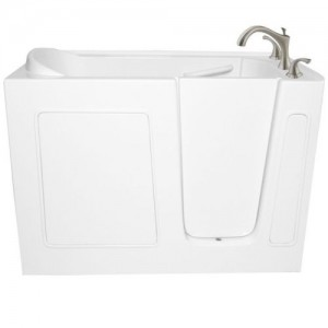 Ariel EZWT-3060 Walk-In Acrylic Soaking Bathtub, ADA Compliant