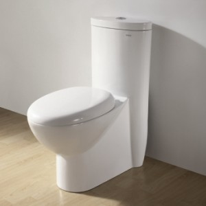 Ariel CO1008 Contemporary European Toilet with Dual Flush